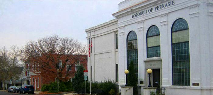 Information on Perkasie Borough, Parks, Schools, Farmers Market, and more